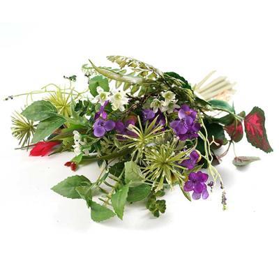Flower mix 부케 조화 그린퍼플 38x30cm CH1701220