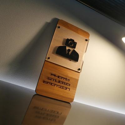 감성 원목 입체 간판 카페 회사 네일샵 매장 오픈