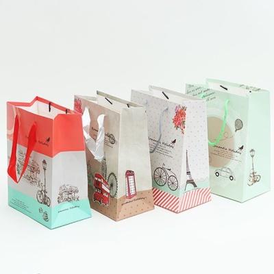 로맨틱 쇼핑백 중 32x26x12 10매입