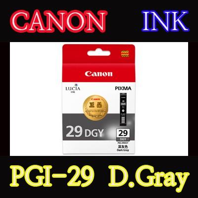 캐논(CANON) 잉크 PGI-29 / D.Gray / PGI29 / PRO-1 / PRO1