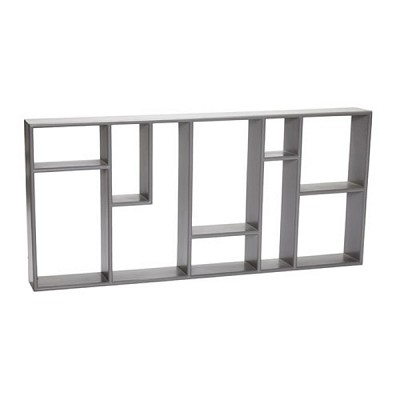 [Hubsch]Shelving unit w/10 compartments, wood, grey 889009 선반