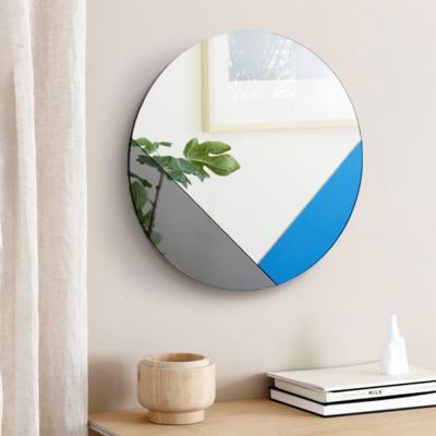 클로이 아트 미러 원형 화장대 인테리어 거울 40CM
