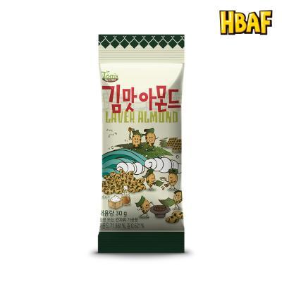 [길림양행] 김맛 아몬드 30g