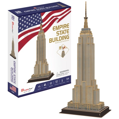 [3D퍼즐마을][C246h] 엠파이어스테이트 빌딩 (Empire State Building)