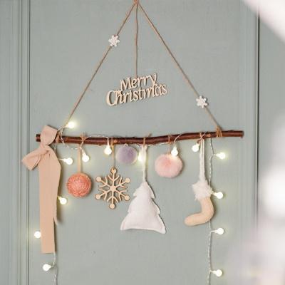 포근한 크리스마스 모빌(전구포함)