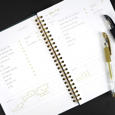 Reservoir Day Planner A5 - Hard Cover