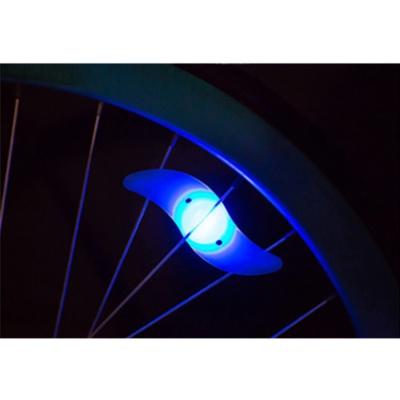 실리콘 자전거 휠라이트(블루) LED 안전등