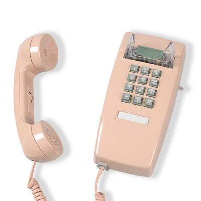 [코텔코] 빈티지 벽걸이 유선전화기 연핑크