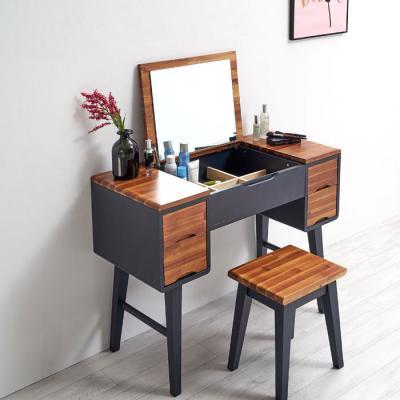 이홈데코 머핀 원목 화장대 + 의자