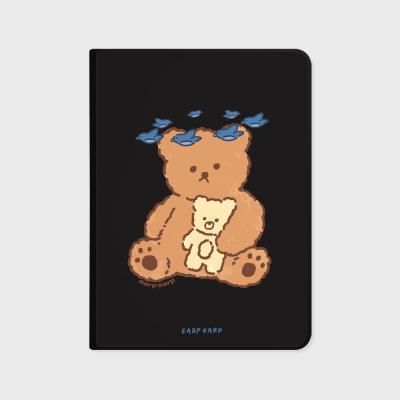 Blue bird bear-black(아이패드-커버)