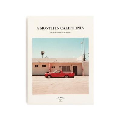[오리지널커버] A MONTH IN CALIFORNIA ver.7