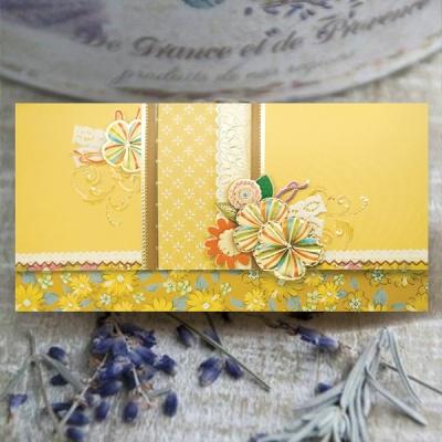 자수 꽃 용돈봉투 FB1013-4