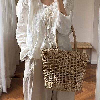 푸링 여성 라탄백 왕골가방 여름가방 숄더백