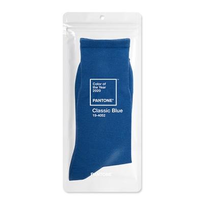 팬톤삭스 클래식 블루 Classic Blue 컬러 장목 양말