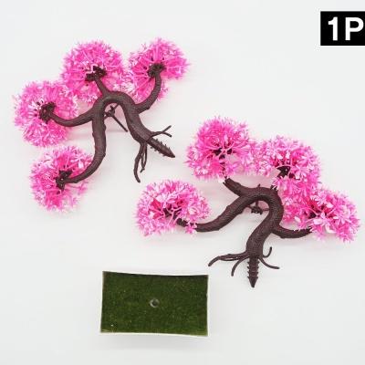 분재 조화 인테리어 장식 홈 스타일링 데코-핑크