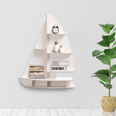 DIY 돛단배 모형 선반 책장 인테리어 벽선반