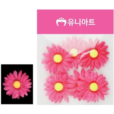 유니아트 (조화꽃) 1500 뿅국화 (진분홍