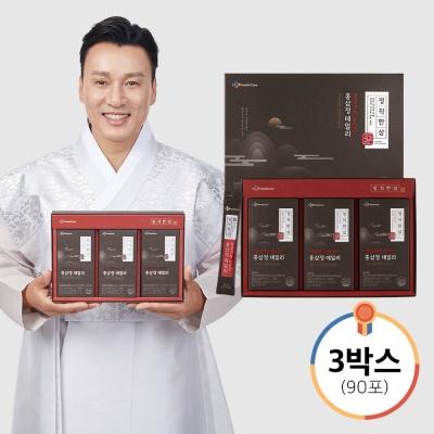 정직한삼 홍삼정 데일리 30포x3박스(총 90포) +쇼핑백