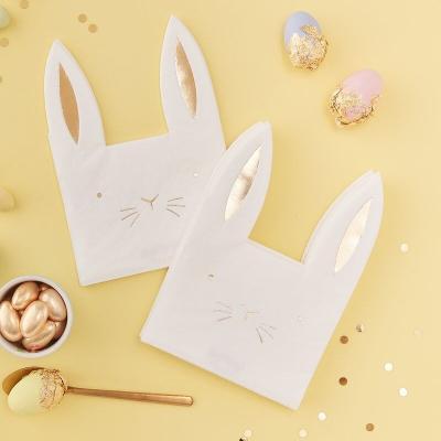 토끼 장식용 냅킨 Easter bunny paper Napkins
