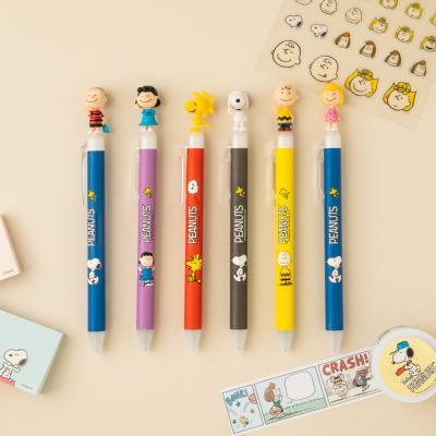 디즈니 스누피 볼펜 귀여운 예쁜 캐릭터 0.5 펜