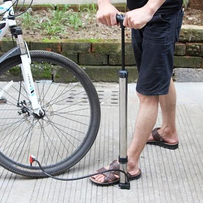 스텐 에어퀵 자전거 펌프