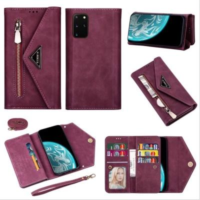 갤럭시s10/플러스 크로스백 카드지갑 핸드폰줄 케이스