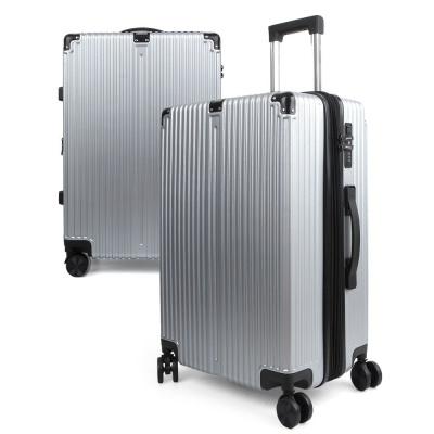 20형 가벼운 제노바 여행용 캐리어 기내용 가방 -실버