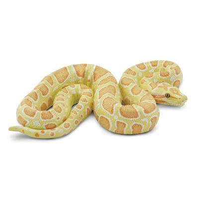 100250 알비노 버마왕뱀 동물피규어