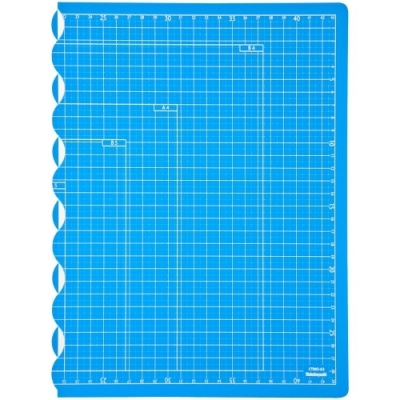 [나카바야시] 접이식커팅매트A3 블루 [개/1] 376831