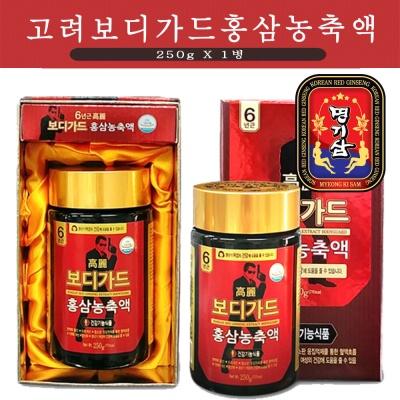 명기삼 고려보디가드 홍삼농축액 250g(250gx1병)