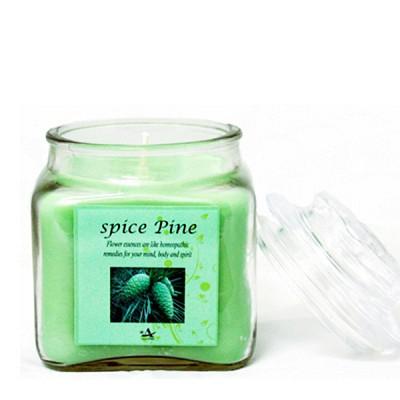 [아로마캔들] 아로마 사각 자캔들 - 스파이스 파인 Spice Pine 250g