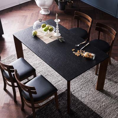 [채우리] 로쉬 화산석 4인식탁세트(의자)
