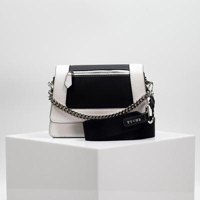 [TYCHE] Small Cross Handbag - Oreo