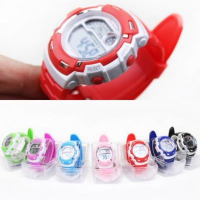 포포팬시 러블리 디지털 손목시계