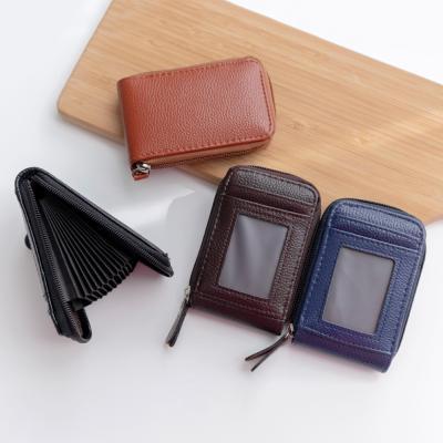 지갑 아코디언 명함 카드지갑 펌프