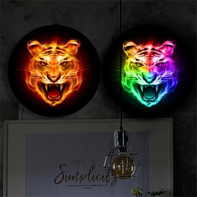 nh263-LED액자35R_풍수빛나는호랑이얼굴