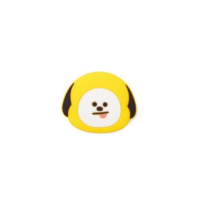 [라인프렌즈] BT21 실리콘 마그넷 치미 페이스