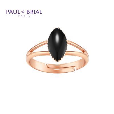 폴브리알 PYBR0115 (PG) 마퀴즈 투라인 반지 BLACK