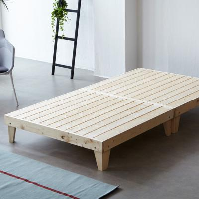 소나무 원목 침대 SS (마루형) OT065
