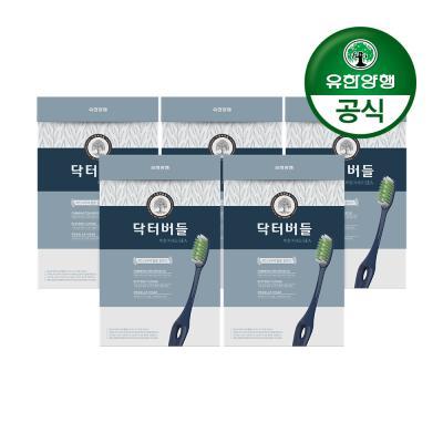 [유한양행]닥터버들 복합미세모 칫솔 6입 5개