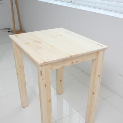 [곧은나무]원목테이블_홍송(60*50cm)