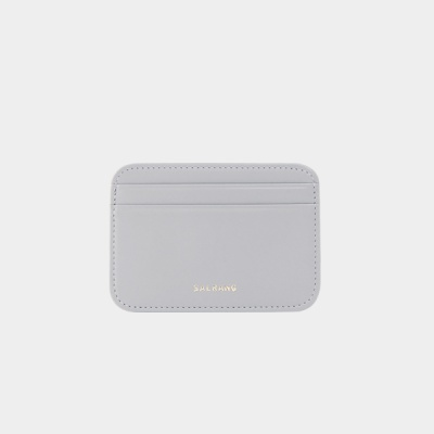 Dijon 101R mini Card Wallet light grey 미니 월렛