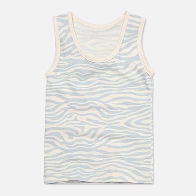[위드오가닉] 남아런닝 얼룩무늬블루