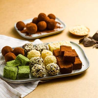 [피나포레 베이킹] 발렌타인데이 파베 초콜릿 로이스초콜릿 만들기