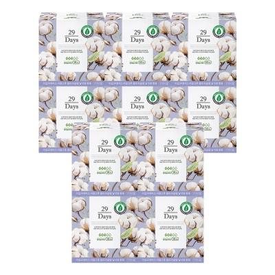29Days 리얼 코튼 유기농 생리대 중형 10팩 세트