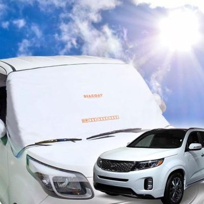 뉴쏘렌토 자동차 앞유리 햇빛가리개