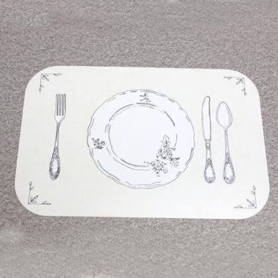 식탁매트 허브 테이블보 식탁카페트 실리콘매트
