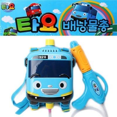 타요 배낭물총 캐릭터물총 대형물총 유아물총 장난감