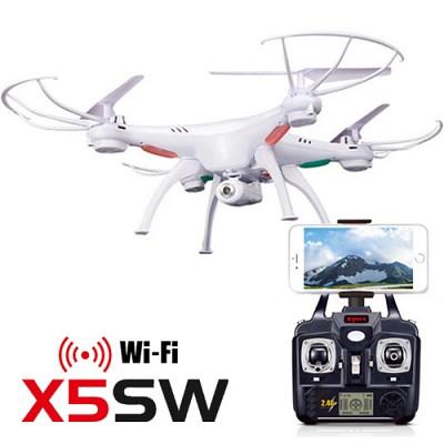 [시마 RC헬기] 시마 드론 X5SW (드론캠,와이파이)