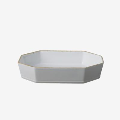 루지아 화이트 35cm 8각 오븐접시